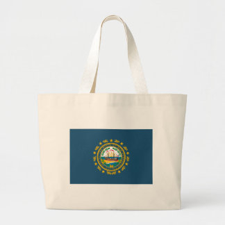 New Hampshire Flag Tote Bag
