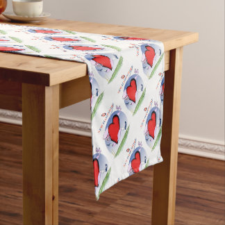 new hampshire head heart, tony fernandes short table runner