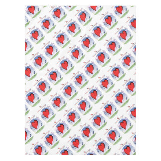 new hampshire head heart, tony fernandes tablecloth