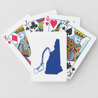 New Hampshire Ice Climbing Bicycle Playing Cards