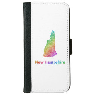New Hampshire iPhone 6 Wallet Case