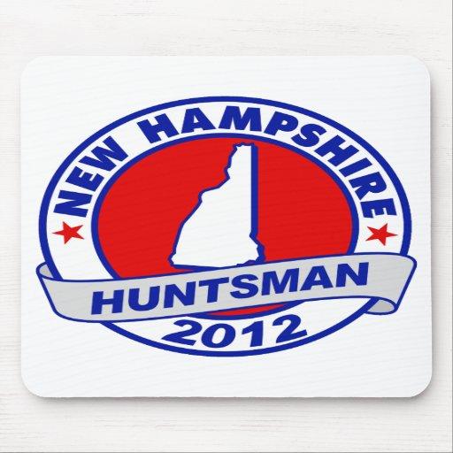 New Hampshire Jon Huntsman Mouse Pad