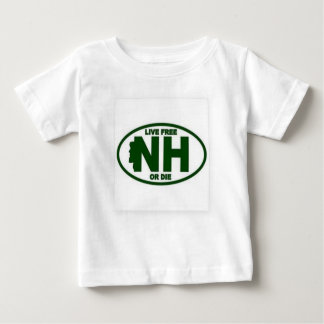 New Hampshire Live Fee or Die Baby T-Shirt
