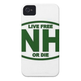 New Hampshire Live Fee or Die Case-Mate iPhone 4 Case