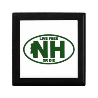 New Hampshire Live Fee or Die Gift Boxes