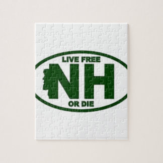 New Hampshire Live Fee or Die Jigsaw Puzzle