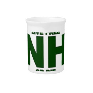 New Hampshire Live Fee or Die Pitcher