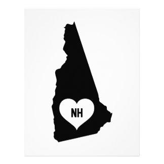 New Hampshire Love Letterhead