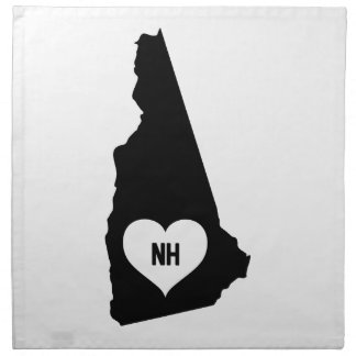 New Hampshire Love Napkin