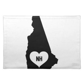 New Hampshire Love Placemat