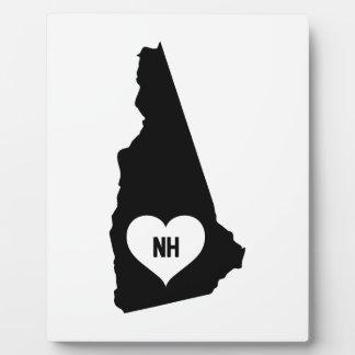 New Hampshire Love Plaque