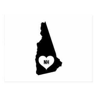 New Hampshire Love Postcard