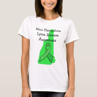 New Hampshire Lyme Disease Awareness T-Shirt
