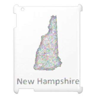 New Hampshire map Cover For The iPad