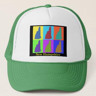 New Hampshire Map Trucker Hat