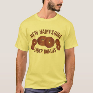 New Hampshire NH Apple Cider Donuts Doughnuts Food T-Shirt