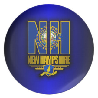 New Hampshire (NH) Party Plates