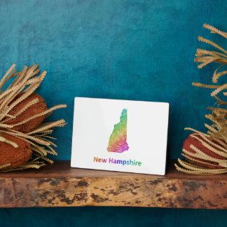 New Hampshire Plaque