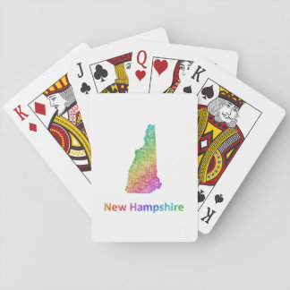 New Hampshire Playing Cards