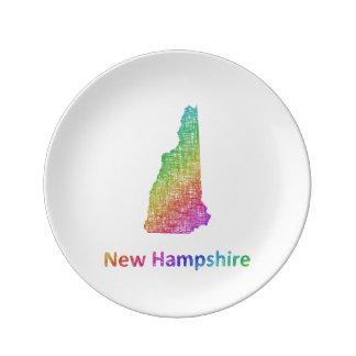 New Hampshire Porcelain Plates