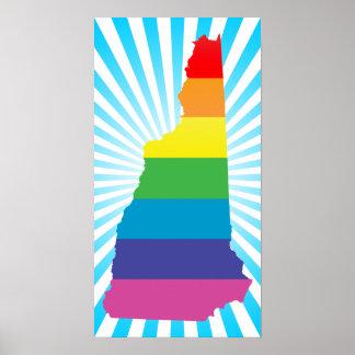 new hampshire pride. poster