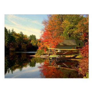 New Hampshire Sea Plane Postcard