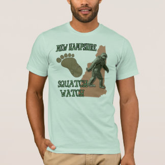 New Hampshire Squatch Watch T-Shirt