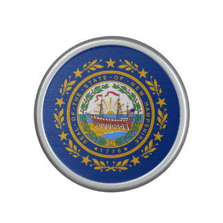 new Hampshire state flag united america republic s Bluetooth Speaker