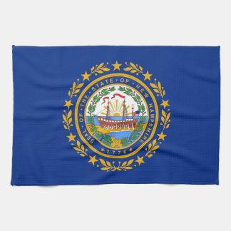 new Hampshire state flag united america republic s Towel