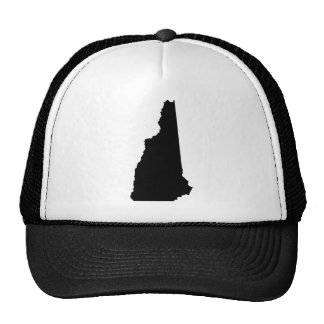 New Hampshire State Outline Trucker Hat