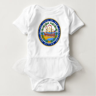 New Hampshire State Seal Baby Bodysuit