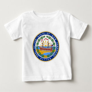 New Hampshire State Seal Baby T-Shirt