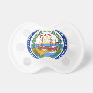 New Hampshire State Seal Pacifier