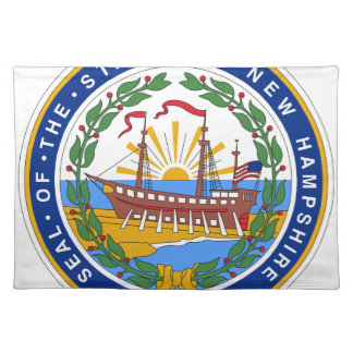 New Hampshire State Seal Placemat