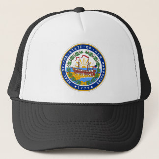 New Hampshire State Seal Trucker Hat
