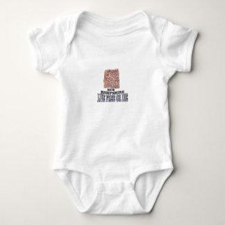 New Hampshire stone Baby Bodysuit