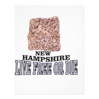 New Hampshire stone Letterhead