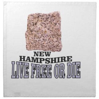 New Hampshire stone Napkin