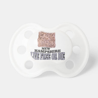 New Hampshire stone Pacifier