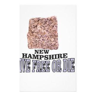 New Hampshire stone Stationery