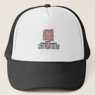 New Hampshire stone Trucker Hat