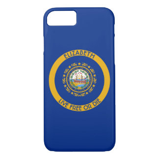 New Hampshire The Granite State Personalized Flag iPhone 8/7 Case