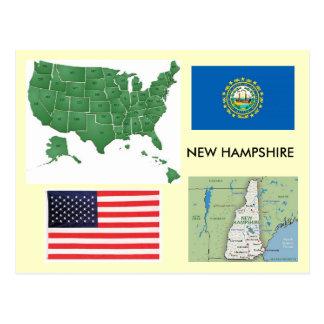New Hampshire, USA Postcard