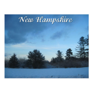 New Hampshire winter Postcard