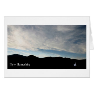 New Hampshire Wonalancet Chapel Card