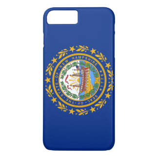 New Hampshire's Flag iPhone 8 Plus/7 Plus Case