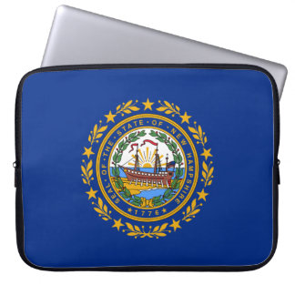 New Hampshire's Flag Laptop Sleeve
