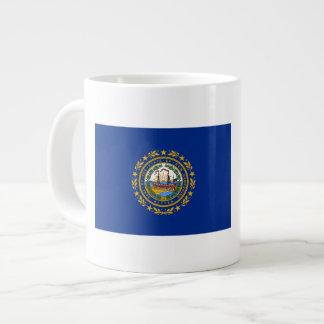 New Hampshire's Flag Large Coffee Mug