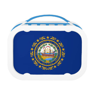 New Hampshire's Flag Lunch Box