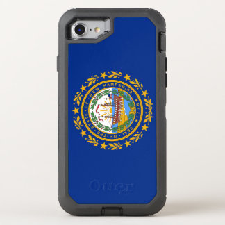 New Hampshire's Flag OtterBox Defender iPhone 8/7 Case